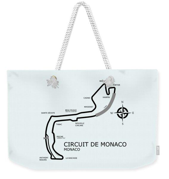 Circuit Of Monaco Weekender Tote Bag