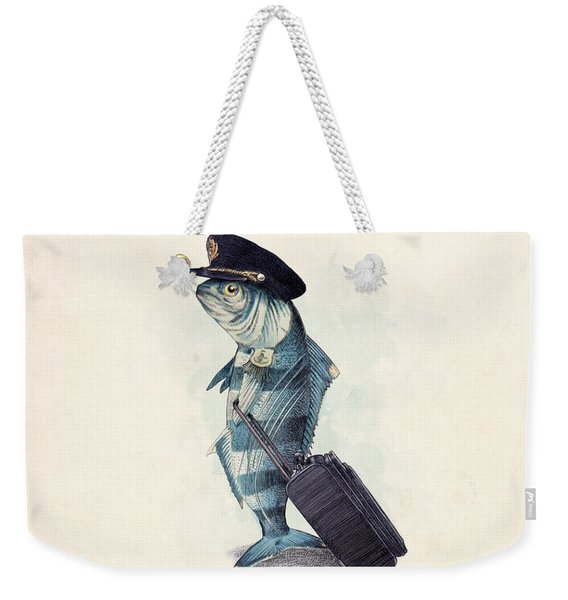 The Pilot Weekender Tote Bag