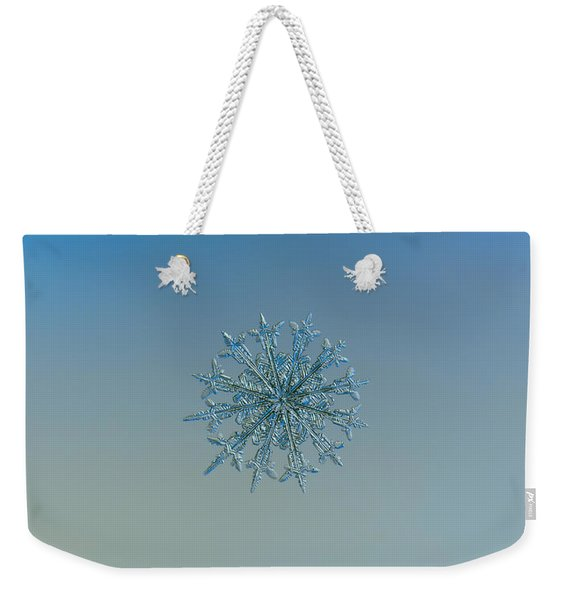 Snowflake Photo - Twelve Months Weekender Tote Bag