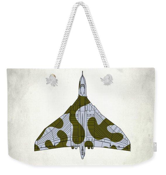 The Vulcan - White Weekender Tote Bag