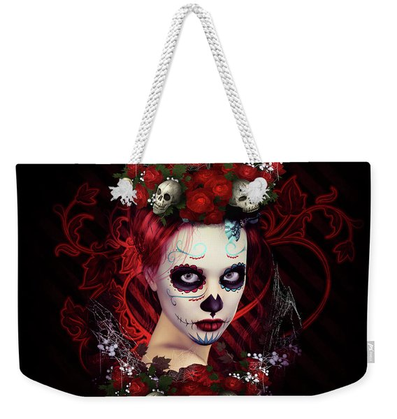 Sugar Doll Red Weekender Tote Bag