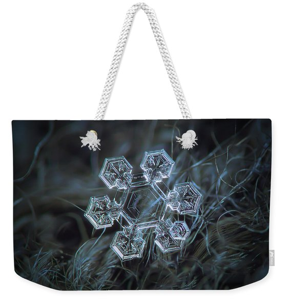 Icy Jewel Weekender Tote Bag