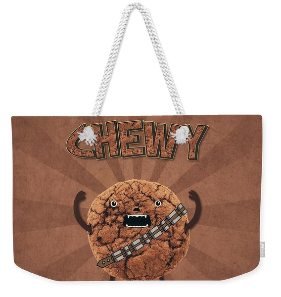 Chewy Chocolate Cookie Wookiee Weekender Tote Bag