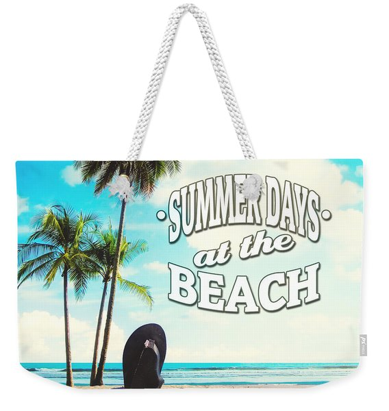 Summer Days Weekender Tote Bag