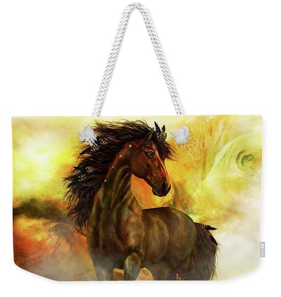 Chitto Spirit Horse Weekender Tote Bag