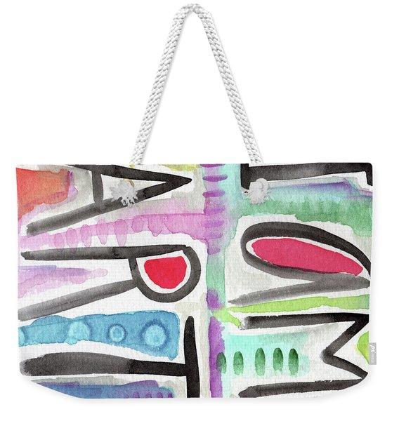 I Am Art Weekender Tote Bag