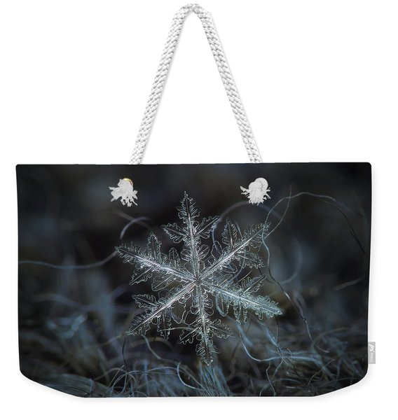 Leaves Of Ice Weekender Tote Bag