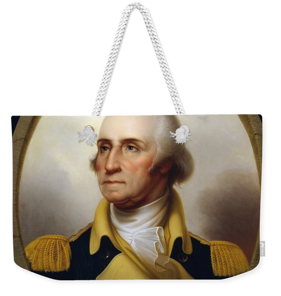 General Washington - Porthole Portrait  Weekender Tote Bag