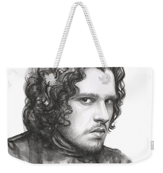 Jon Snow Game Of Thrones Weekender Tote Bag