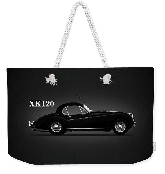 Jaguar Xk120 Coupe Weekender Tote Bag