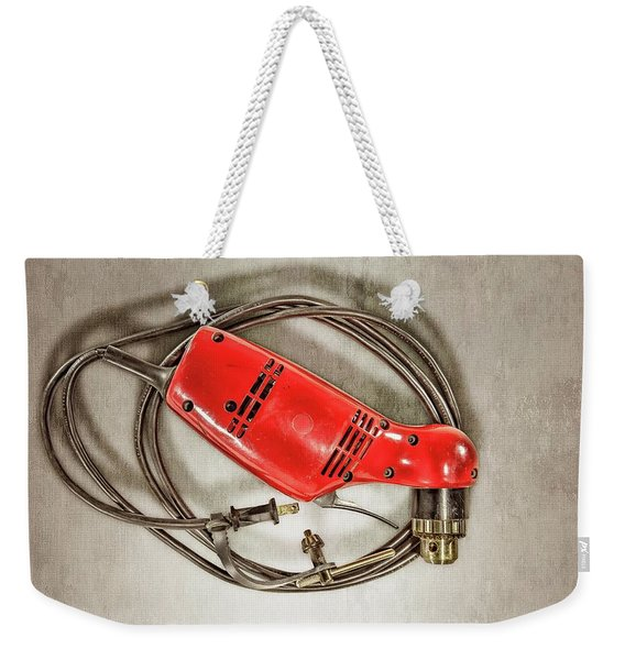 Right Angle Drill Weekender Tote Bag