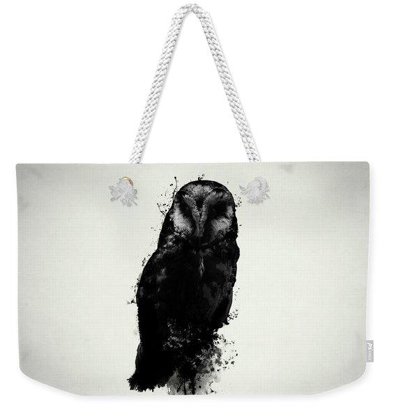 The Owl Weekender Tote Bag