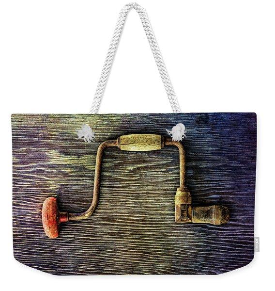 Tools On Wood 58 Weekender Tote Bag