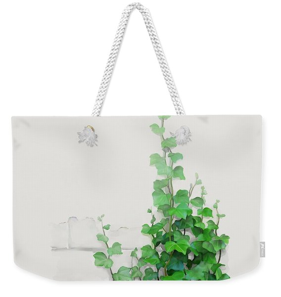 Vines By The Wall Weekender Tote Bag