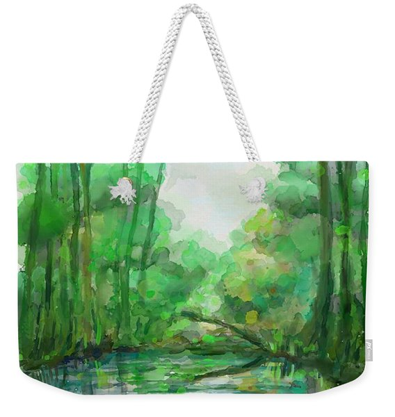 Lost In Colors  Weekender Tote Bag