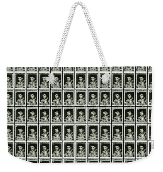Cassius Clay World Champion Stamp Weekender Tote Bag