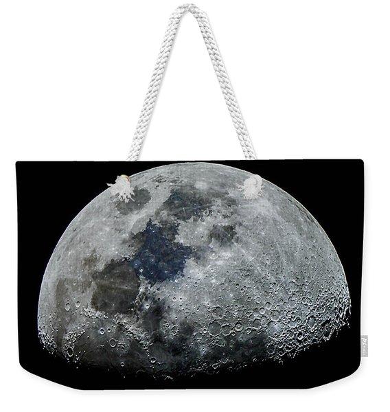 Color Moon Weekender Tote Bag