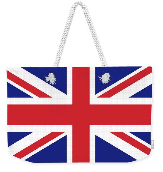 Union Jack Ensign Flag 1x2 Scale Weekender Tote Bag
