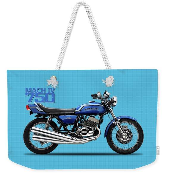 The Kawasaki H2 1975 Weekender Tote Bag