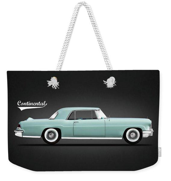 Lincoln Continental Mk2 1956 Weekender Tote Bag