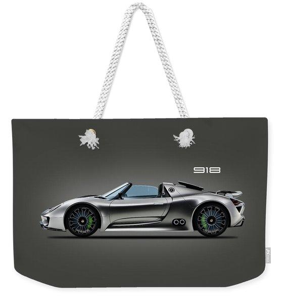 The 918 Spyder Weekender Tote Bag