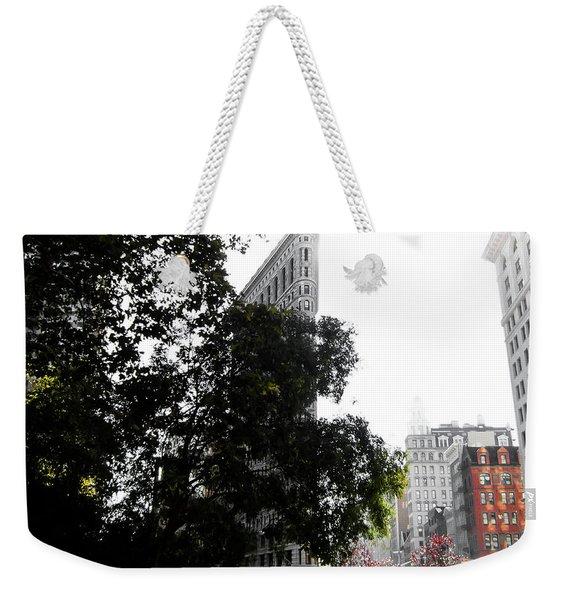 Flatiron Autumn  Weekender Tote Bag