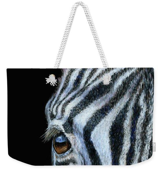 Zebra Detail Weekender Tote Bag