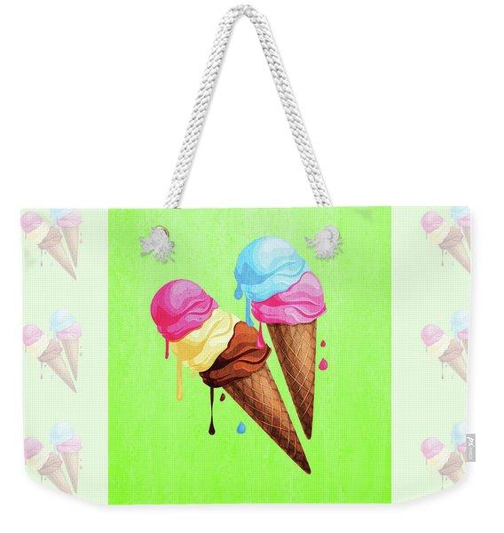 The Last Taste Of Summer Is The Sweetest Weekender Tote Bag