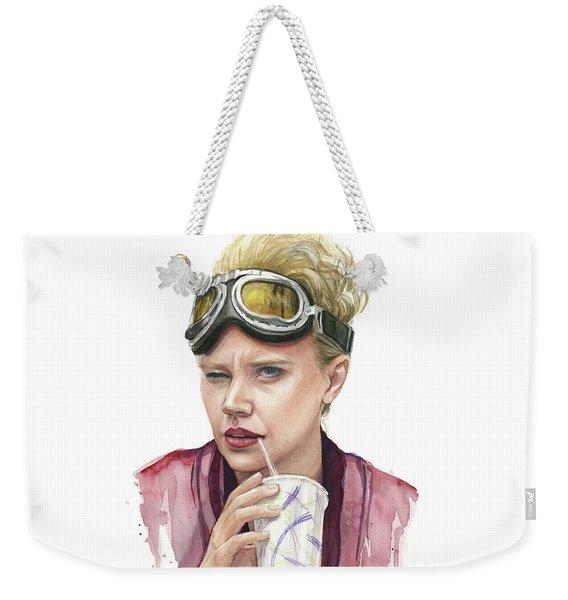 Jillian Holtzmann Ghostbusters Portrait Weekender Tote Bag