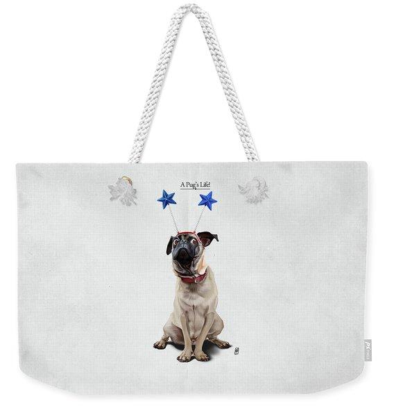 A Pug's Life Weekender Tote Bag