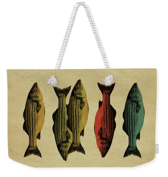 One Fish, Two Fish . . . Weekender Tote Bag