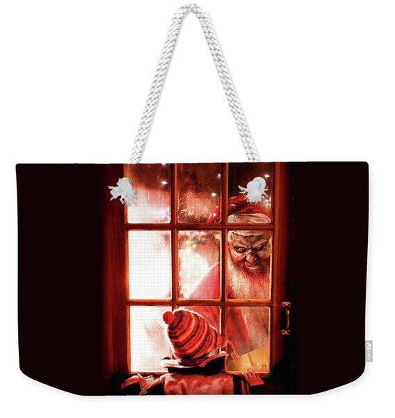 Krampus Weekender Tote Bag