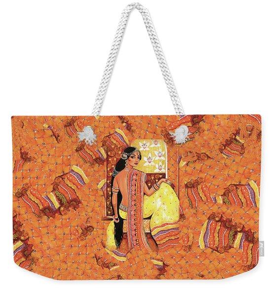 Bharat Weekender Tote Bag