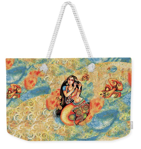 Aanandinii And The Fishes Weekender Tote Bag