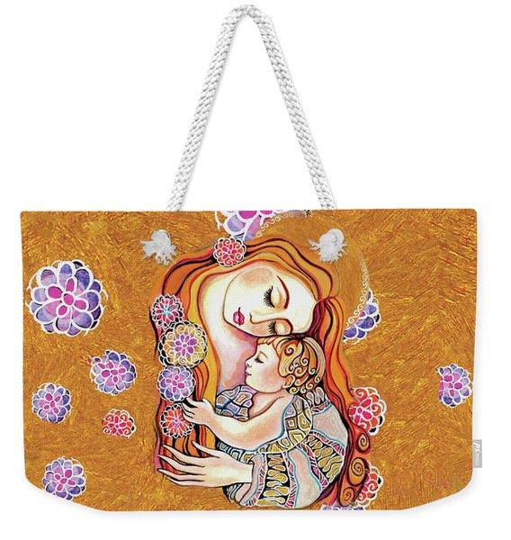 Little Angel Sleeping Weekender Tote Bag
