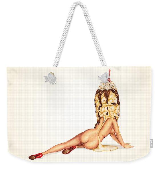 Sundae Best Weekender Tote Bag