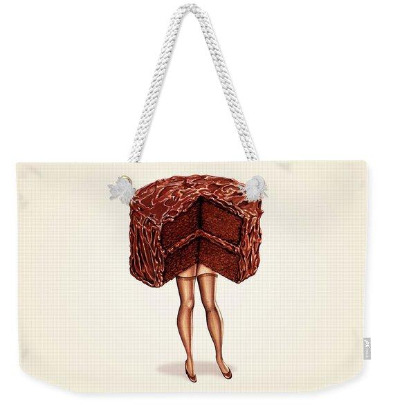 Hot Cakes - Devil's Food Weekender Tote Bag