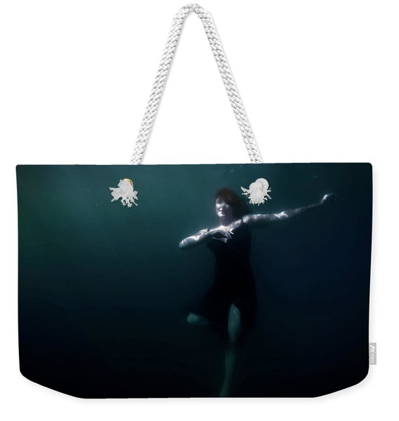 Dancing Under The Water Weekender Tote Bag
