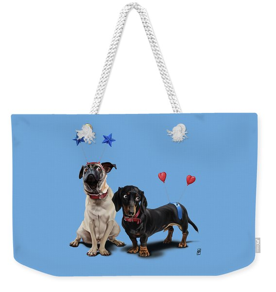 What's The Deely? Colour Weekender Tote Bag