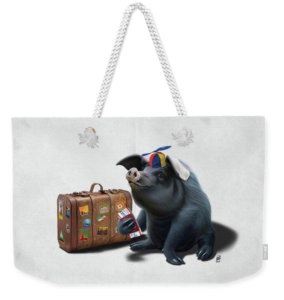 Might Wordless Weekender Tote Bag
