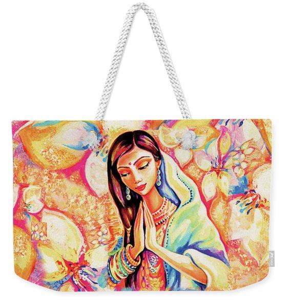 Little Himalayan Pray Weekender Tote Bag