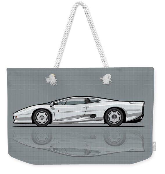 Jag Xj220 Spa Silver Weekender Tote Bag