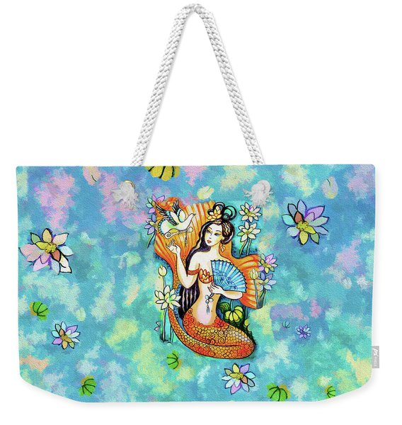 A Letter From Far Away Weekender Tote Bag