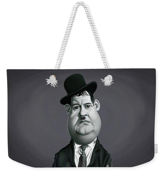 Celebrity Sunday - Oliver Hardy Weekender Tote Bag
