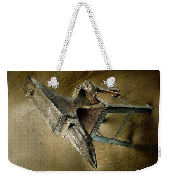 Anvil And Hammer Weekender Tote Bag