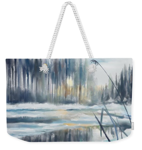 Snow From Yesterday Weekender Tote Bag