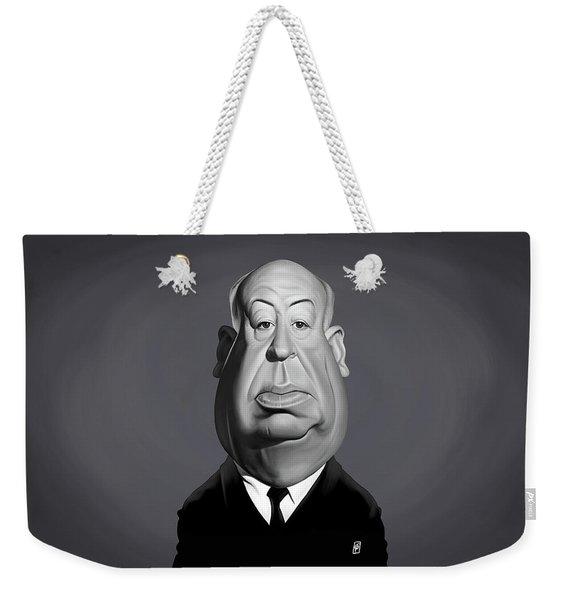 Celebrity Sunday - Alfred Hitchcock Weekender Tote Bag