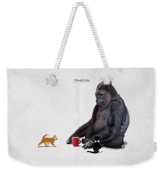 I Should, Koko Weekender Tote Bag