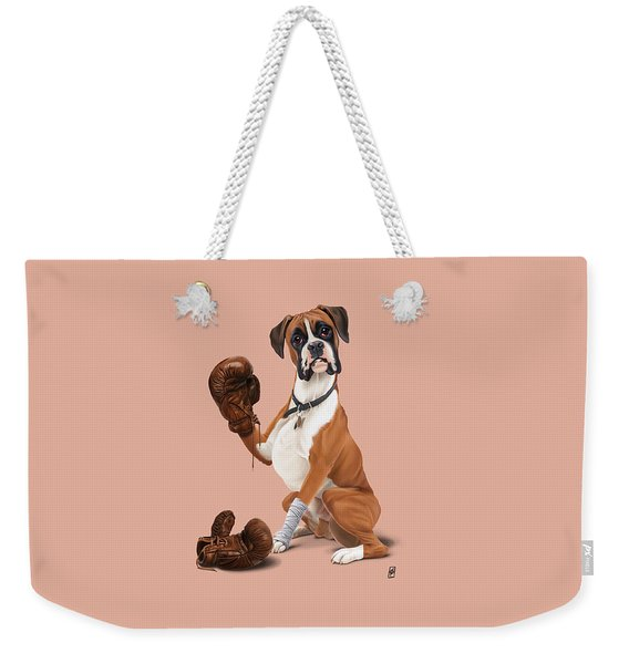 The Boxer Colour Weekender Tote Bag