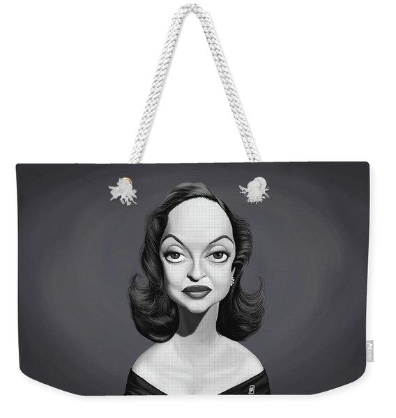 Celebrity Sunday - Bette Davis Weekender Tote Bag